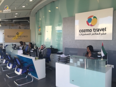 Cozmo travel flight booking holidays group tours sight seeings and transfers - Thai airways dubai office ...